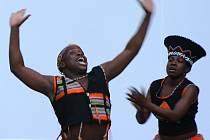 Tanečníci ze Zimbabwe