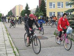 Jarní cyklistická vyjížďka Přes kopec na Hradec aneb Jindřichohradecký pedál.