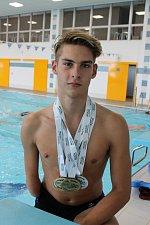 Jonáš Kešnar přivezl z Evropských paralympijských her medaile