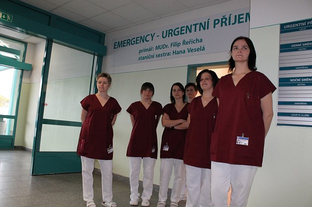Nové oddělení urgentního příjmu začalo pacientům jindřichohradecké nemocnice sloužit v dubnu.