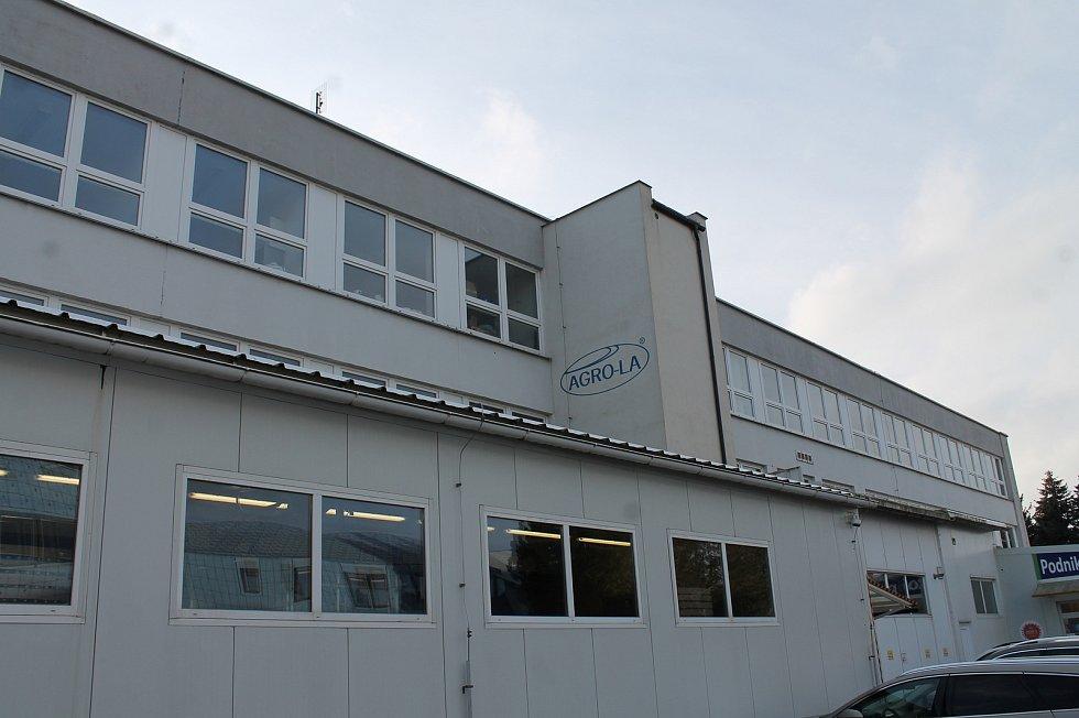 Firma Agro-la sídlí v Jindřichově Hradci.