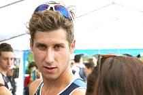 Triatlonista František Linduška zvítězil v kategorii dospělých.