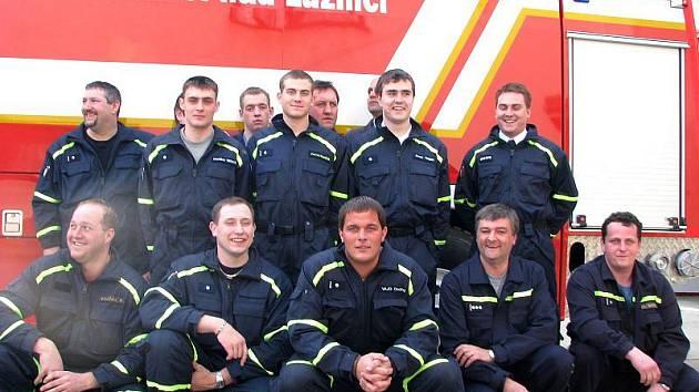 Jednotka poloprofesionálních hasičů ze Suchdola nad Lužnicí.