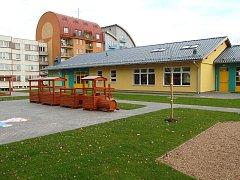 Nová školka na sídlišti Hvězdárna v Jindřichově Hradci.
