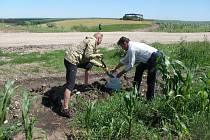 Snímky z letošní ukrajinské Expedice Hodov.