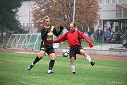 Fotbalisté Nové Včelnice porazili v derby I.A třídy Dačice jasně 5:1.