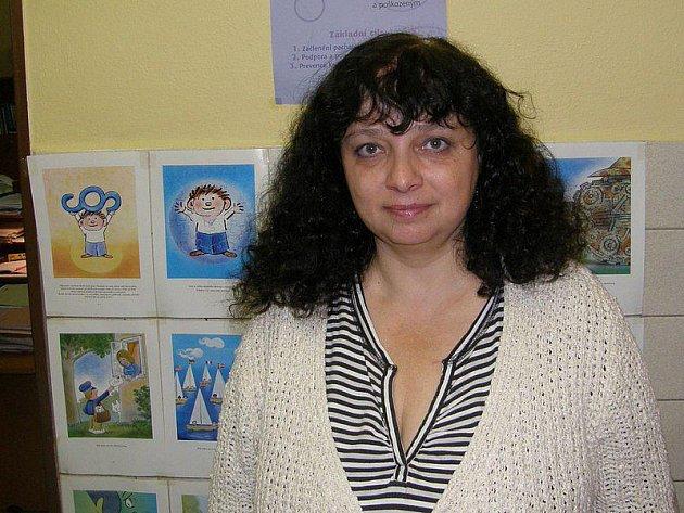 VEDOUCÍ STŘEDISKA. Alena Böhmová  v jindřichohradecké probační a mediační službě pracuje od jejího vzniku v roce 2001.