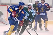 Hokejisté Vajgaru zvítězili v přípravném utkání na ledě Milevska 7:3.