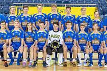 Družstvo dorostenců FK Slovan Jindřichův Hradec se stalo vítězem jedné ze skupin II. florbalové ligy.
