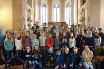 Snímek pochází z návštěvy žáků z partnerské školy v Neckargemündu.