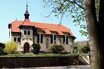 Evangelický kostel v Jindřichově Hradci. Ilustrační snímek.