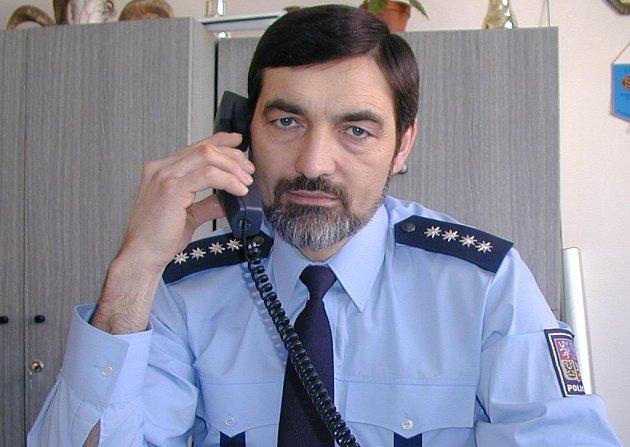 Policejní mluvčí Jaroslav Beran.