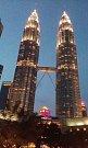 Cestovatelé prozkoumávali město Kuala Lumpur.