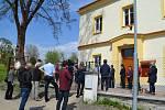 Otevření víceúčelového domu pro spolky v Radouňce (bývalé školy).