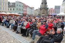Svatováclavské slavnosti přilákaly stovky lidí.