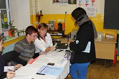 Volby v Nové Bystřici. Ilustrační foto.