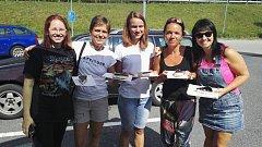 Členové SK Kardašova Řečice se zúčastnili 3. Horské výzvy v Železné Rudě.