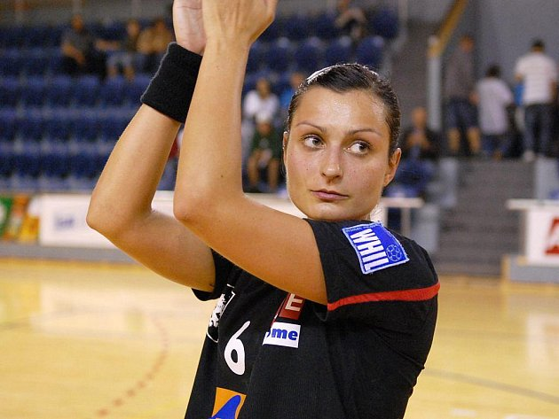 Házenkářka Zuzana Kupková.