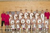 Basketbalisté BK Lions Jindřichův Hradec.