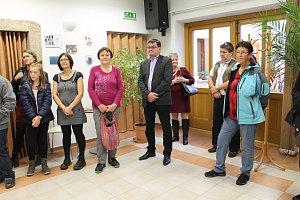 V bystřické knihovně je až do konce letošního roku k vidění výstava Pocity.