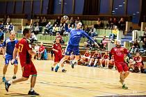 Třeboňští házenkáři ve 2. kole II. ligy porazili budějovickou Lokomotivu vysoko 32:17.