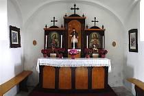 Zrenovovaný oltář