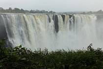 Cestovatelé navštívili Viktoriiny vodopády.