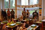 První školní den na 4. ZŠ v Jindřichově Hradci.