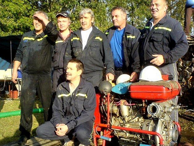 Vítězný tým TRW–DAS Dačice