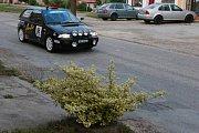 Další závod Českomoravského poháru v rallye v Radouni.