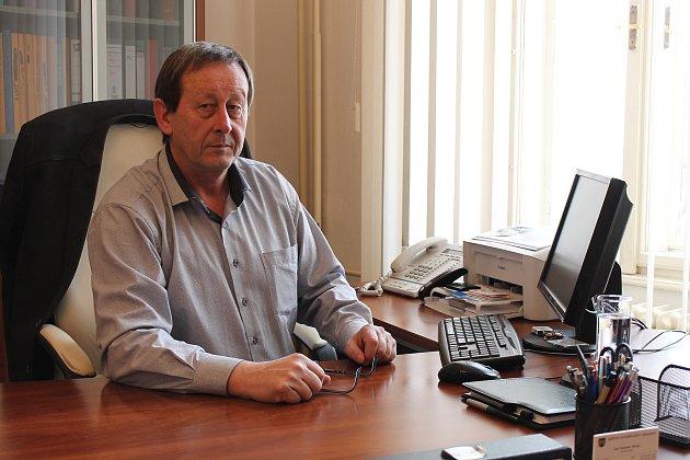 Dnes již bývalý starosta Jindřichova Hradce Stanislav Mrvka.