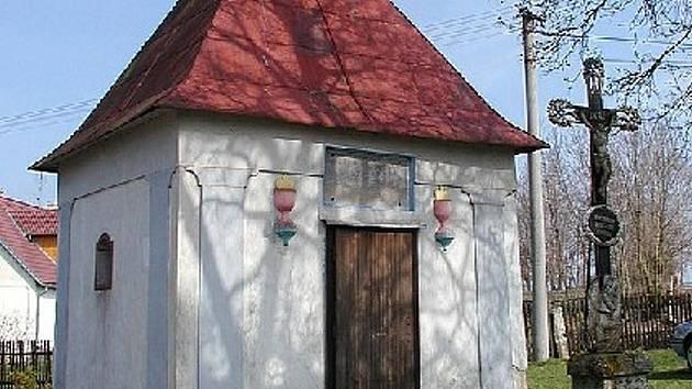 Kaple v Lovětíně. Ilustrační foto.