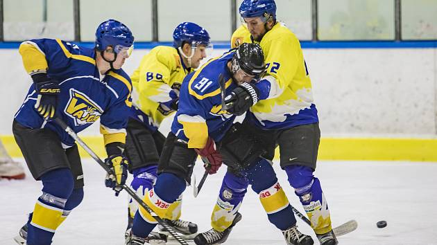 Nový ročník krajské ligy hokejistů právě začíná.
