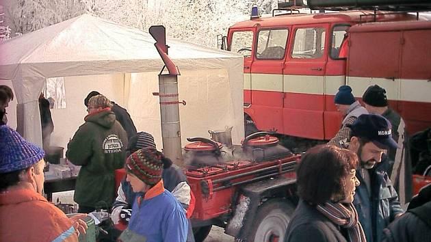 Ze života dobrovolných hasičů ve Studené.