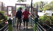 Cestovatelé si užili návštěvu přímořského města Lumut.