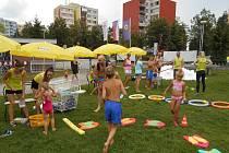 V rámci TOP týdne si děti užily vodní radovánky.