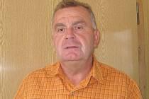 Starosta Číměře Petr Šachl.