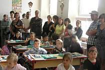 Zahájení školního roku v Základní škole v Českých Velenicích.