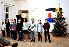 Na zámku Dobrohoř se konal Adventní koncert.