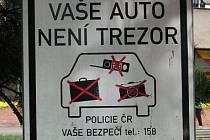 Auto není trezor. Ilustrační foto.