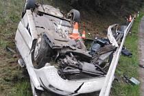 Tragická dopravní nehoda se stala v sobotu před 13. hodinou u Nové Včelnice.