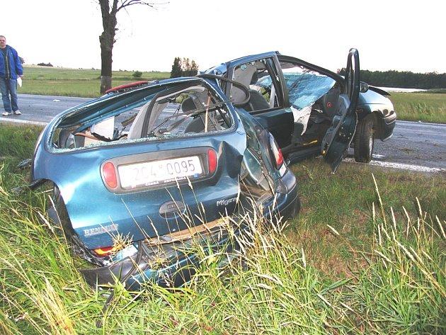 Autonehoda uZáhoří