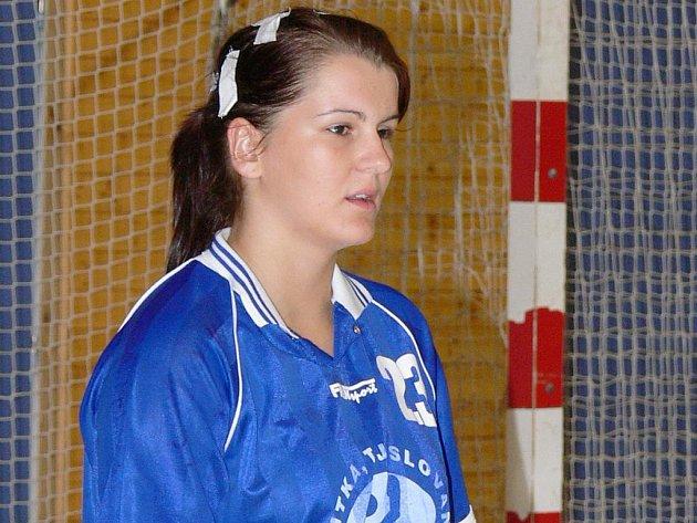 Házenkářka Kateřina Krupicová.