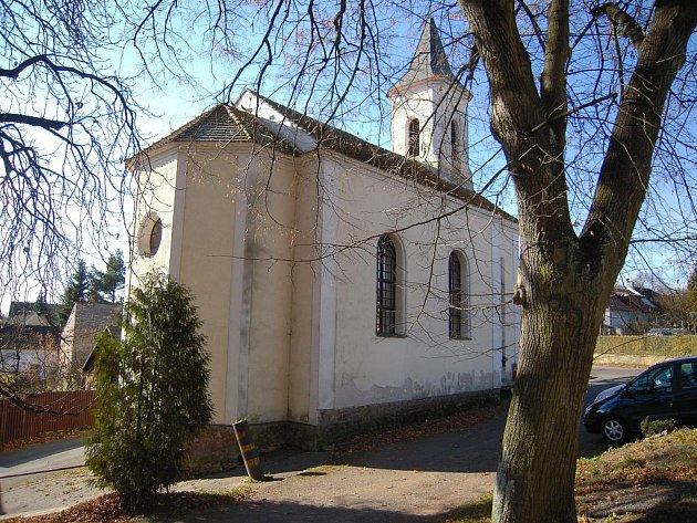 Kaple v Políkně.