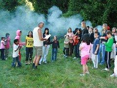 Setkání pěstounských rodin v Kunžaku.