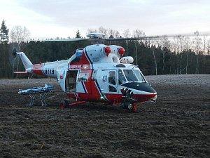 Nehoda s pěti zraněnými u Blažejova