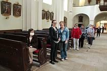 V pátek v Dačicích proběhla Noc kostelů.