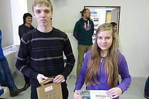 Marek Dvořák a Barbora Procházková obsadili druhé místo v celorepublikové soutěži v účetnictví.