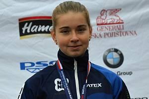 Lenka Bártová je odchovankyní Klubu biatlonu Staré Město pod Landštejnem. Foto: archiv klubu