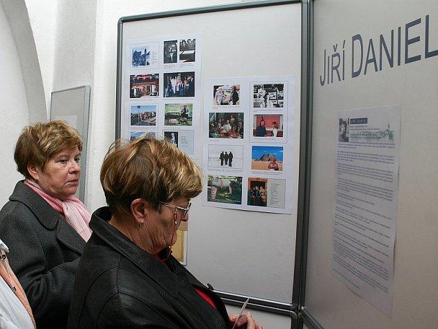 Výstava Jiřího Daniela
